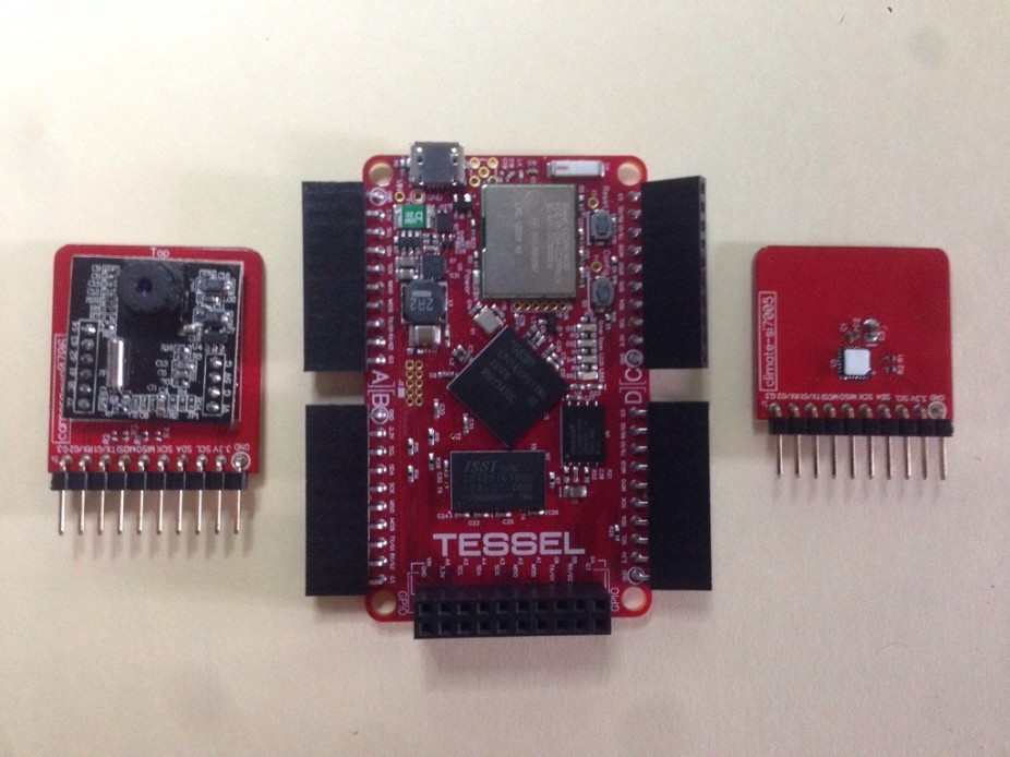 Tessel Review, Camera, Climate