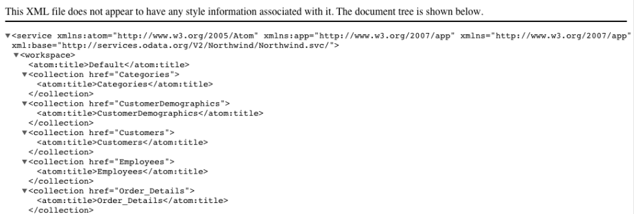 salesforce-sample-odata-xml