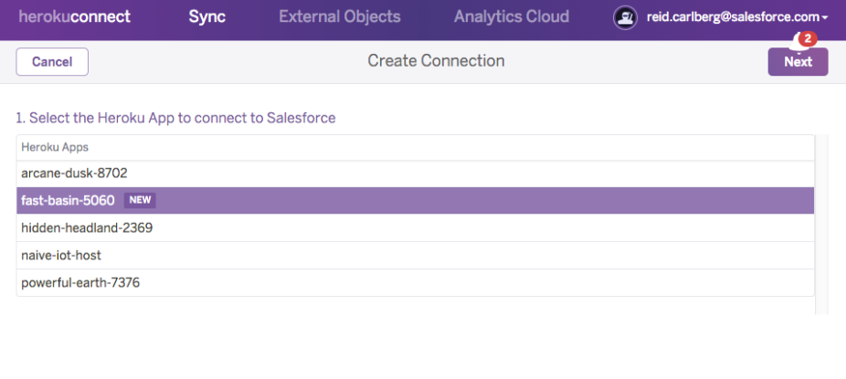 heroku-connect-create-connection